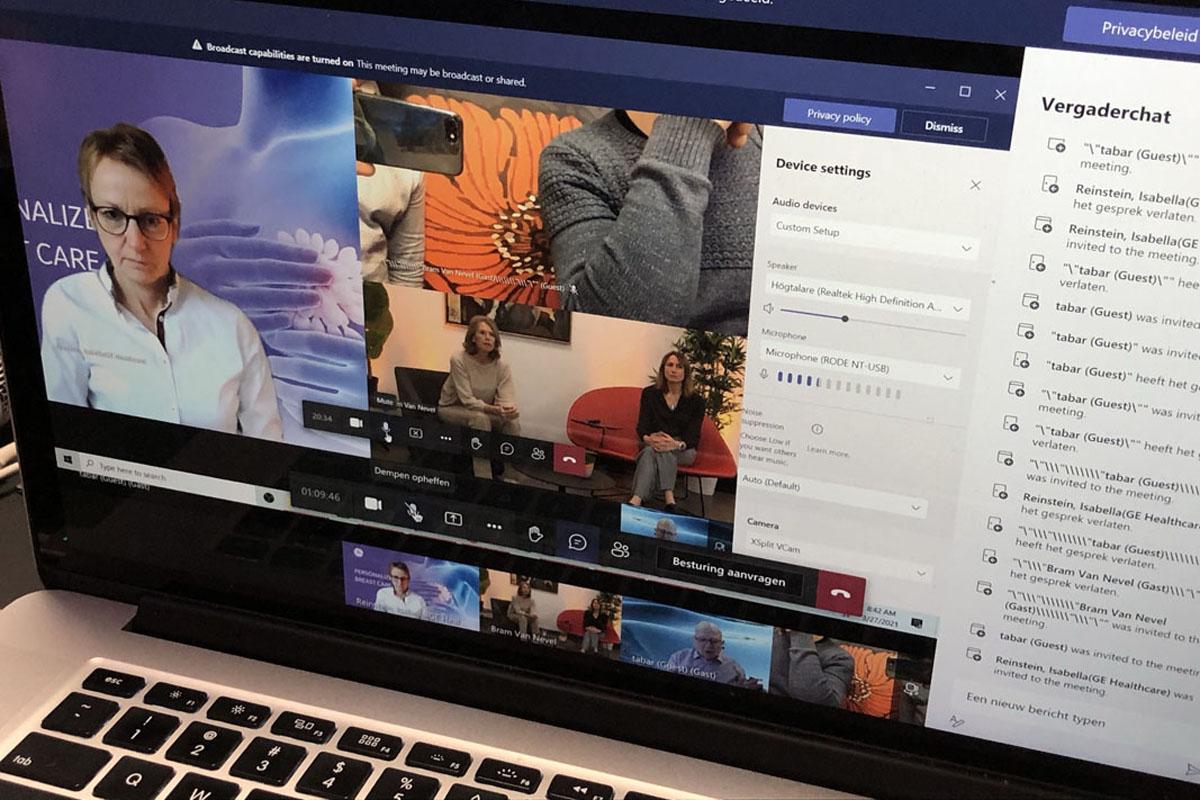 AZ Sint-Maarten - Online Live Webinar
