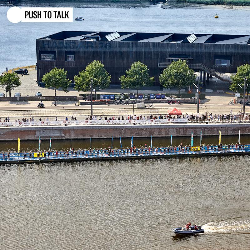Push To Talk organiseert Port of Antwerp Triathlon Festival